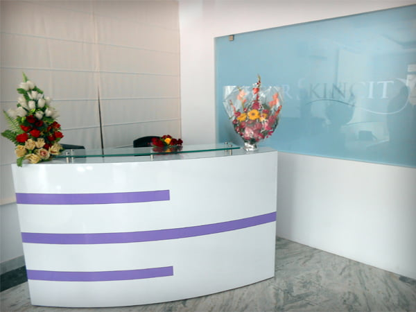 Jaipur Skincity Clinic Reception