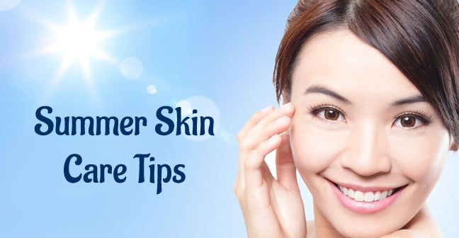 Summer skin care tips to get a glowing skin in summers