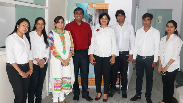 Jaipur Skincity Clinic Reception